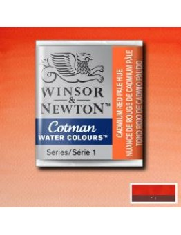 COTMAN CADMIUM RED PALE HUE