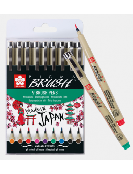 PIGMA BRUSH SET 9