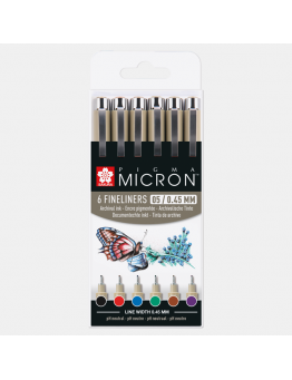 PIGMA MICRON 05 BASIC SET 6