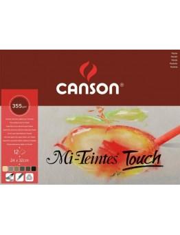 PASTELNI BLOK CANSON MI-TEINTES TOUCH, 350 g