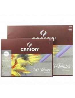 PASTELNI BLOK CANSON MI-TEINTES - SIVI TONI, 160 g