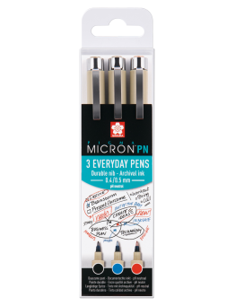 PIGMA MICRON PN OFFICE SET 3