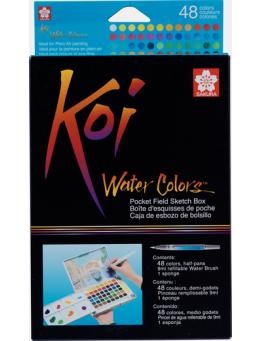 KOI WATER COLORS SET 48