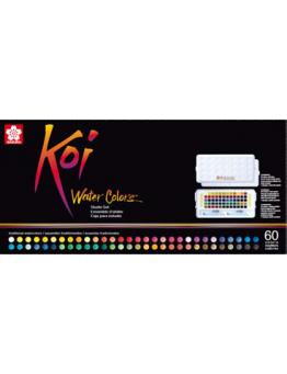 KOI WATER COLORS SET 60