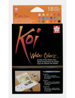 KOI WATER COLORS SET 18