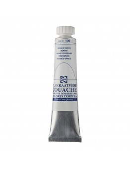 GOUACHE 20ML WHITE EXTRA OPAQUE